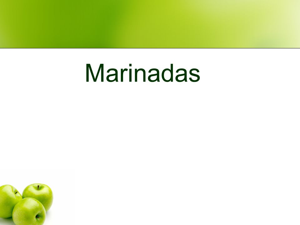Marinadas