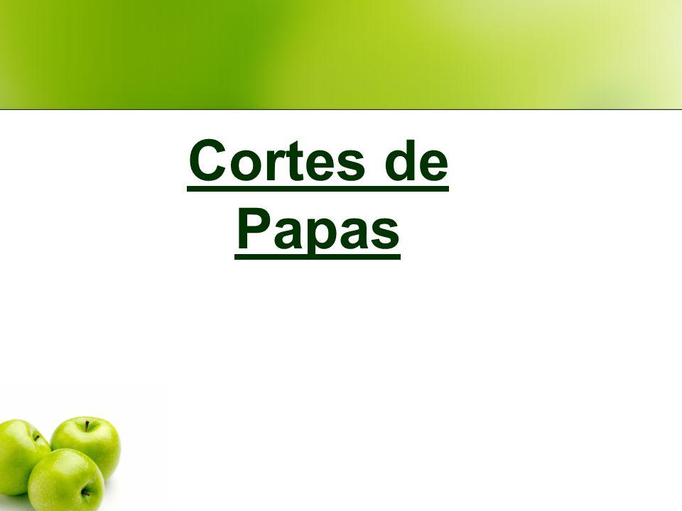 Cortes de Papas