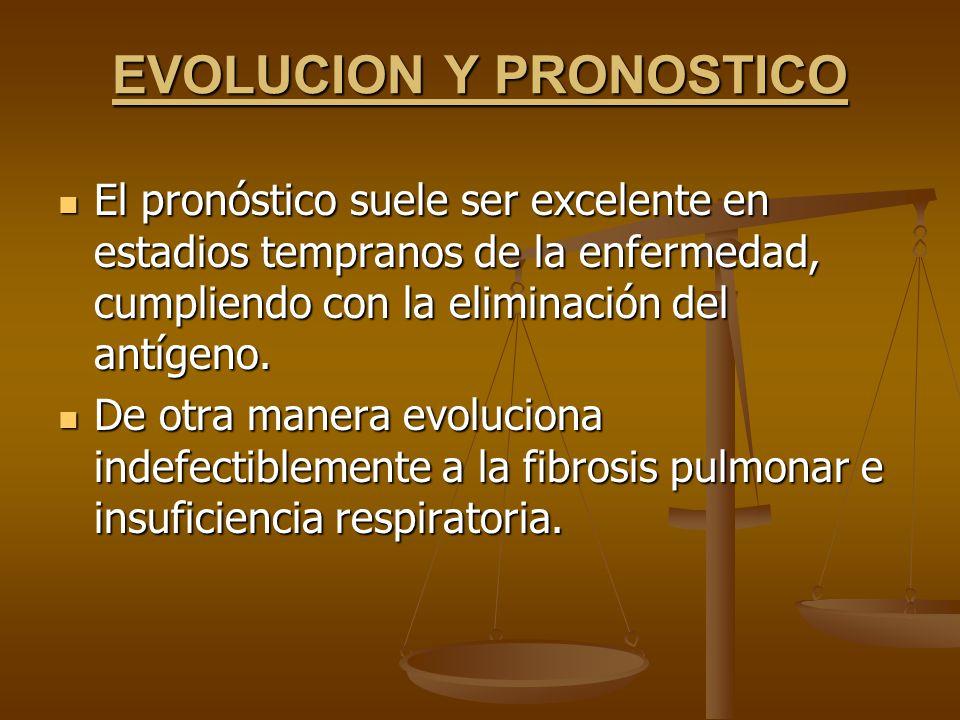 EVOLUCION Y PRONOSTICO