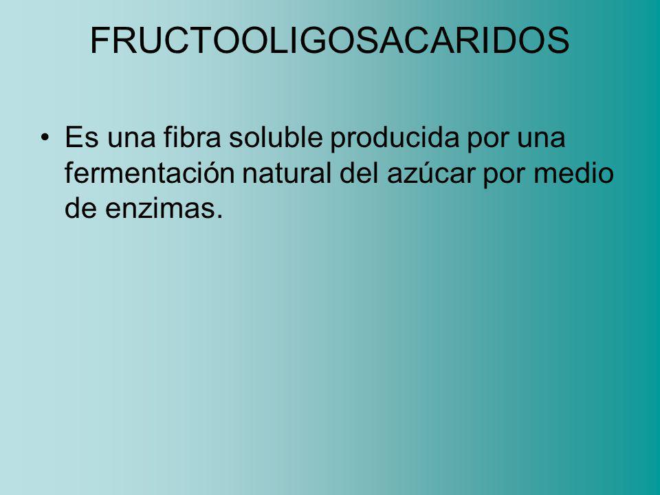 FRUCTOOLIGOSACARIDOS