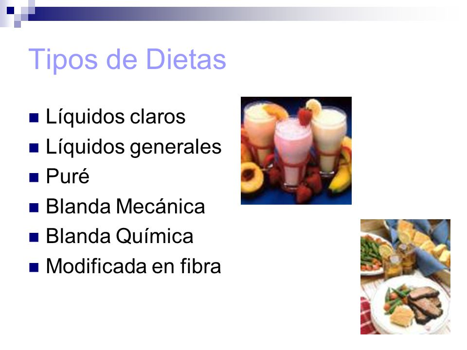 Tipos de Dietas. - ppt video online descargar