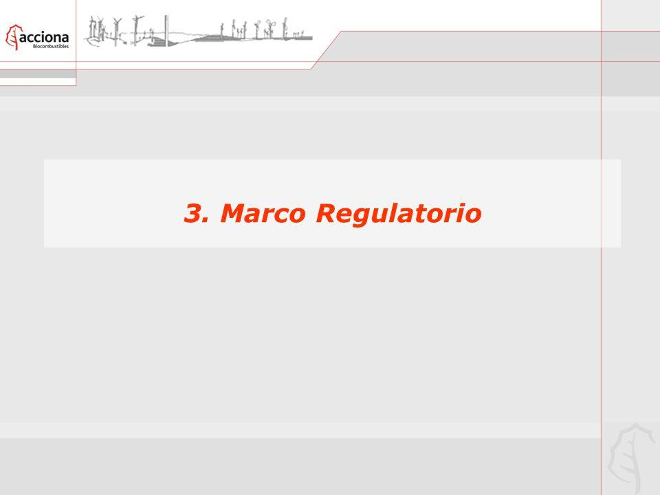 3. Marco Regulatorio