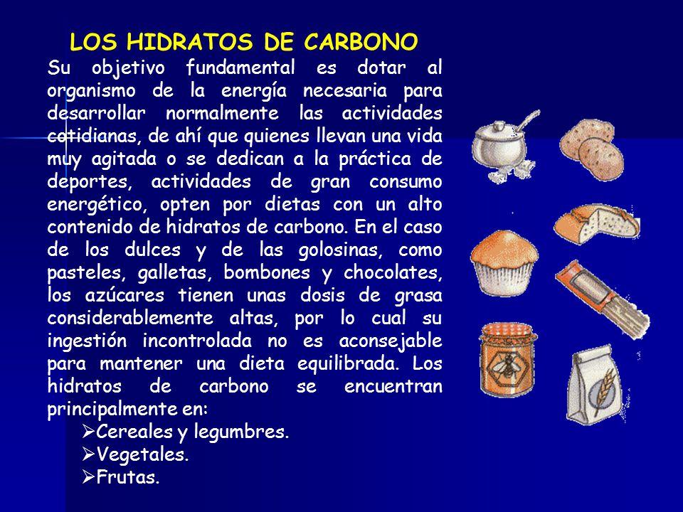 LOS HIDRATOS DE CARBONO
