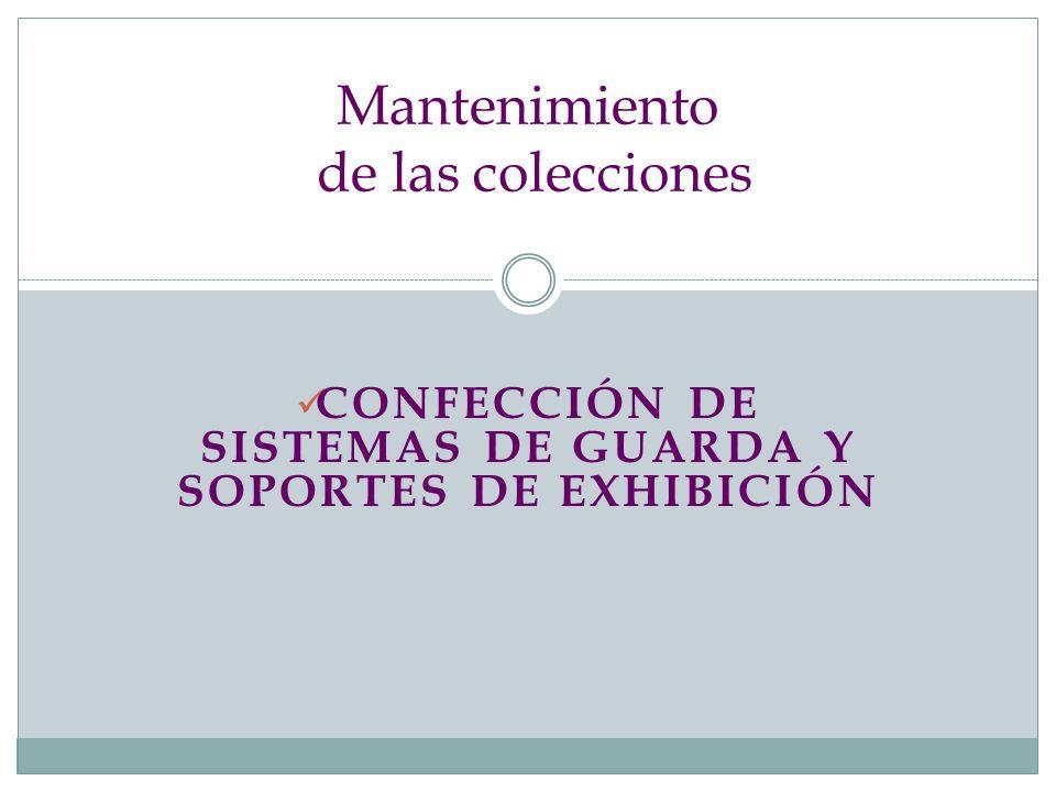 Mantenimiento de las colecciones