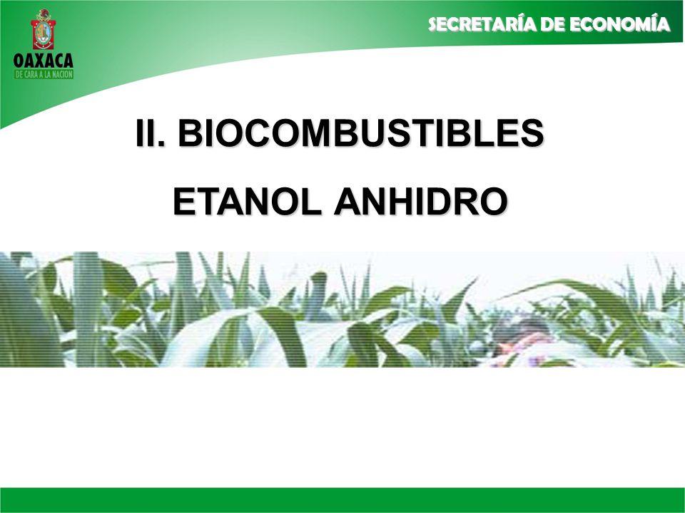II. BIOCOMBUSTIBLES ETANOL ANHIDRO