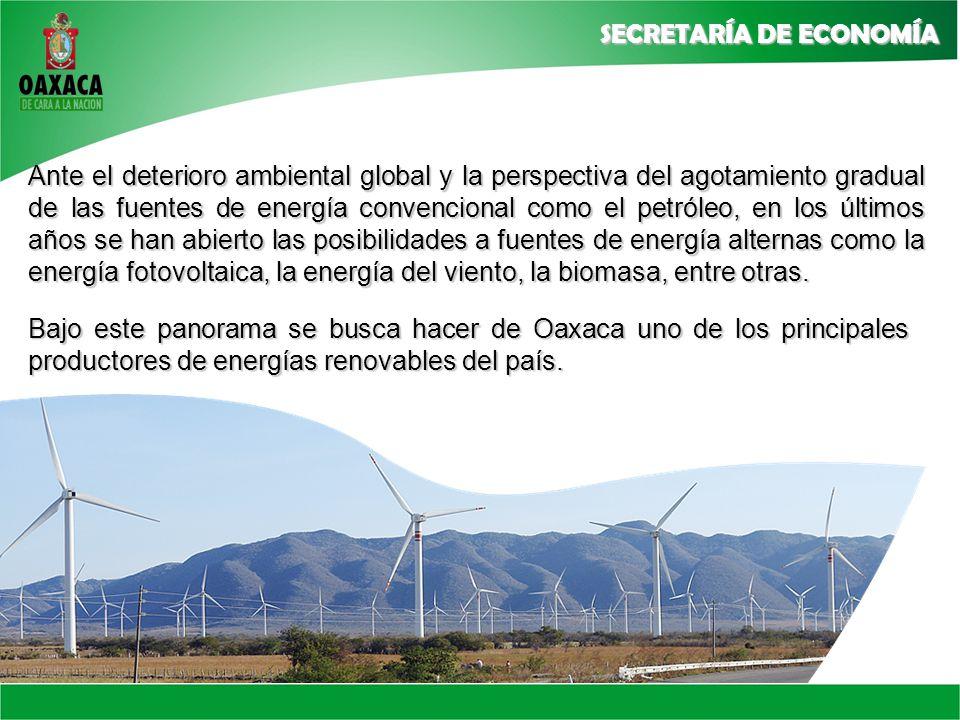 Ante el deterioro ambiental global y la perspectiva del agotamiento gradual de las fuentes de energía convencional como el petróleo, en los últimos años se han abierto las posibilidades a fuentes de energía alternas como la energía fotovoltaica, la energía del viento, la biomasa, entre otras.