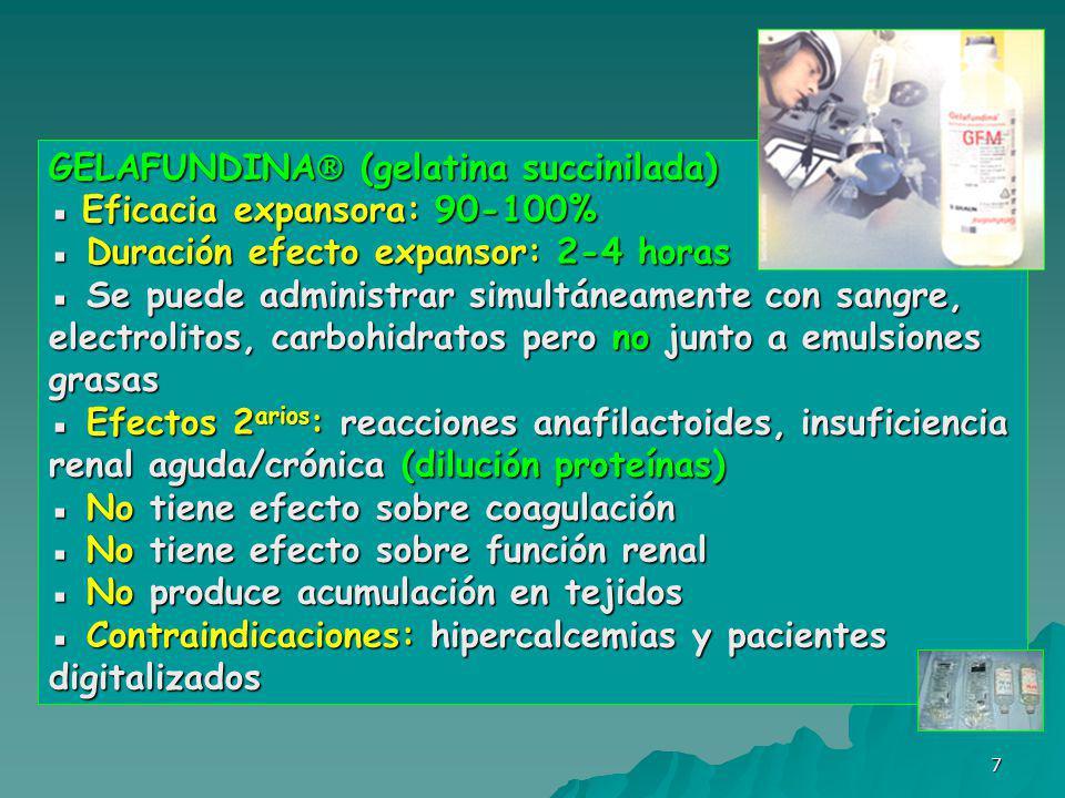 GELAFUNDINA (gelatina succinilada)