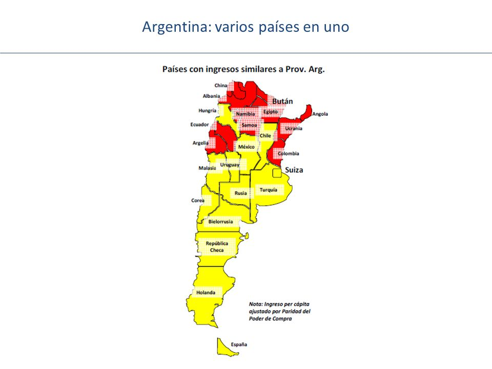 Argentina: varios países en uno