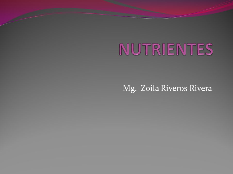 Mg. Zoila Riveros Rivera