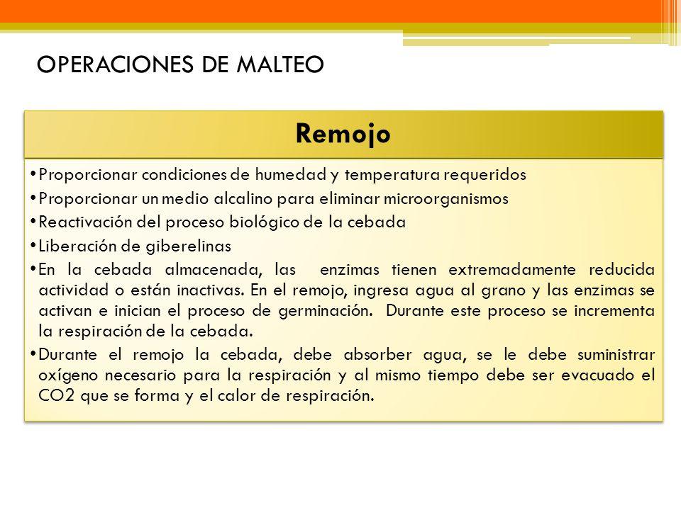 Remojo OPERACIONES DE MALTEO