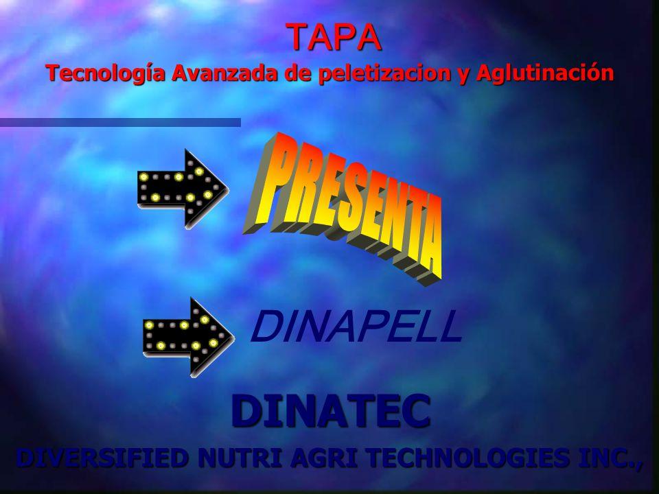 DINAPELL DINATEC PRESENTA TAPA