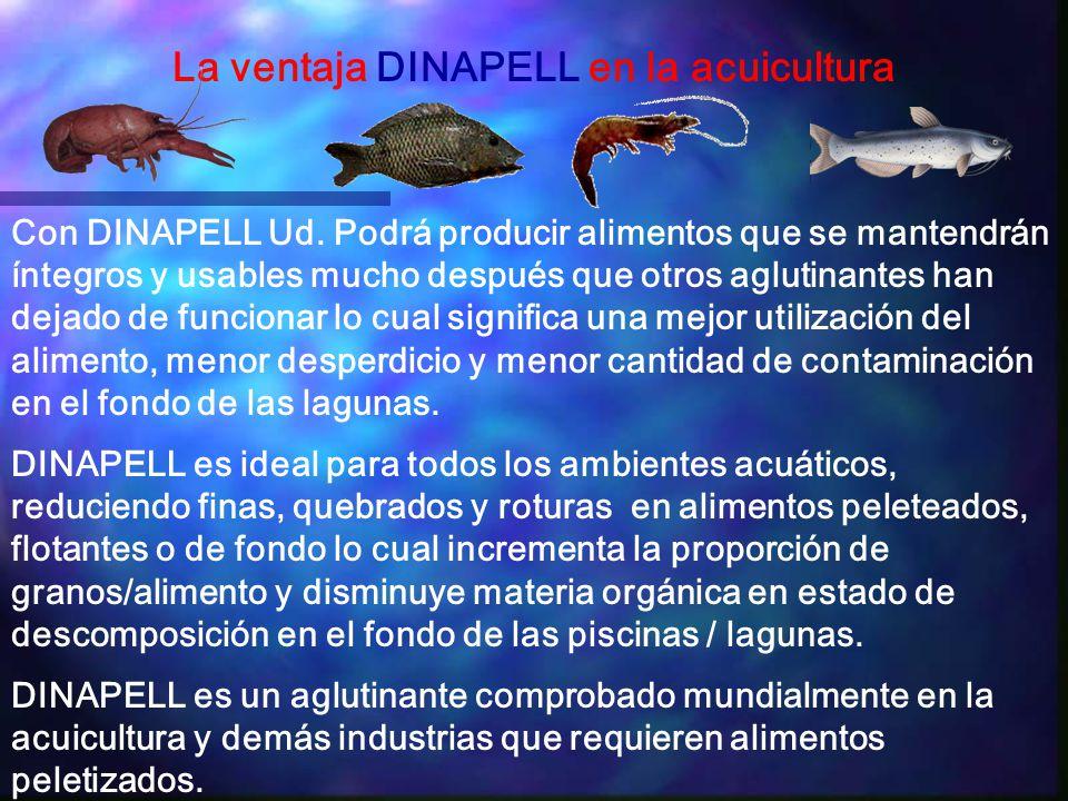 La ventaja DINAPELL en la acuicultura