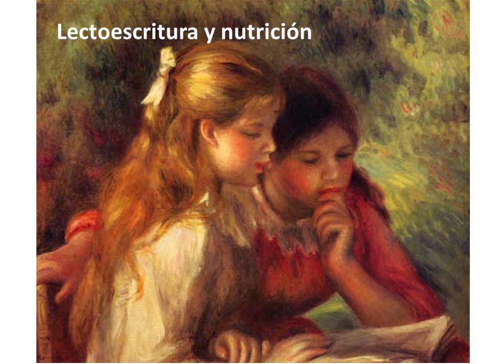 Lectoescritura y nutrición