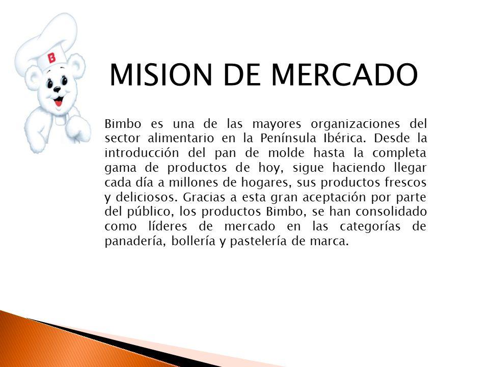 MISION DE MERCADO