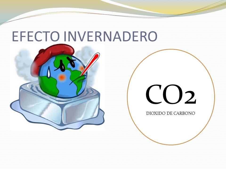 EFECTO INVERNADERO CO2 DIOXIDO DE CARBONO