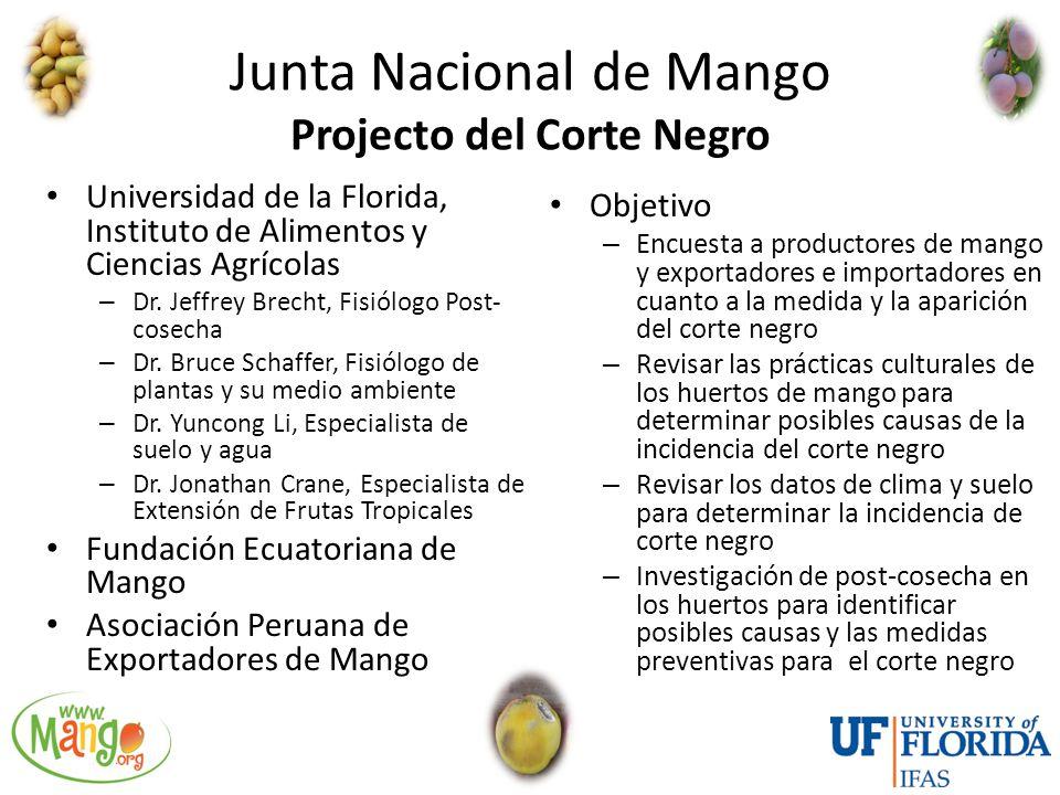 Junta Nacional de Mango Projecto del Corte Negro