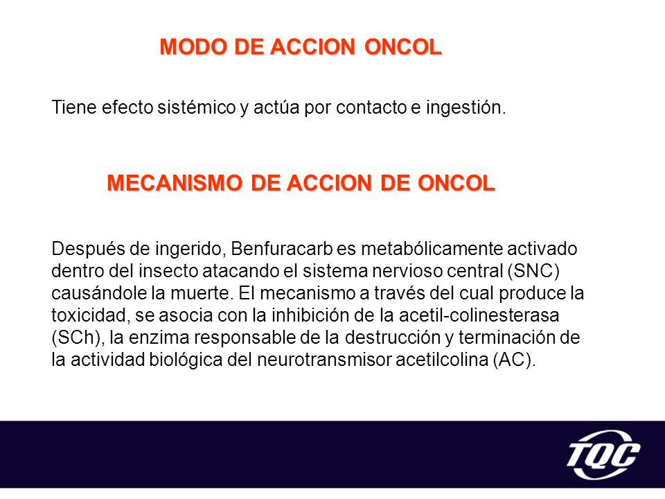 MECANISMO DE ACCION DE ONCOL