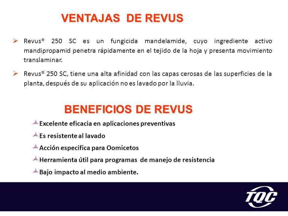 VENTAJAS DE REVUS BENEFICIOS DE REVUS