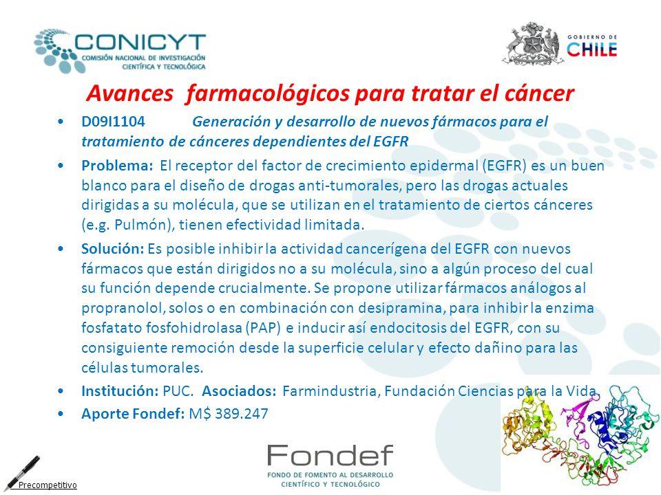 Avances farmacológicos para tratar el cáncer