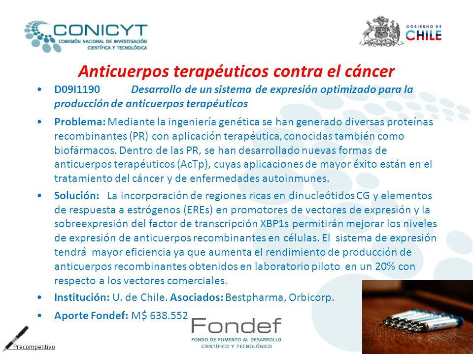 Anticuerpos terapéuticos contra el cáncer