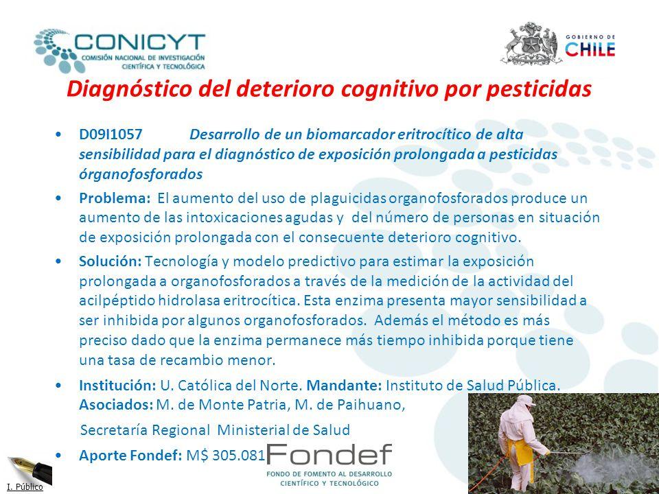 Diagnóstico del deterioro cognitivo por pesticidas