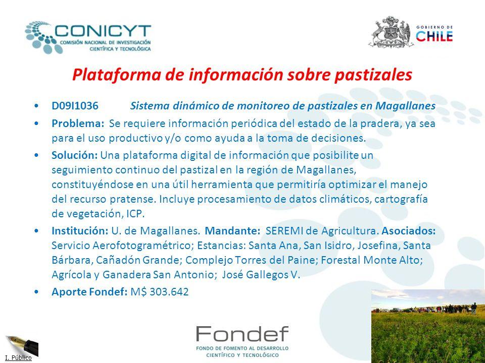 Plataforma de información sobre pastizales