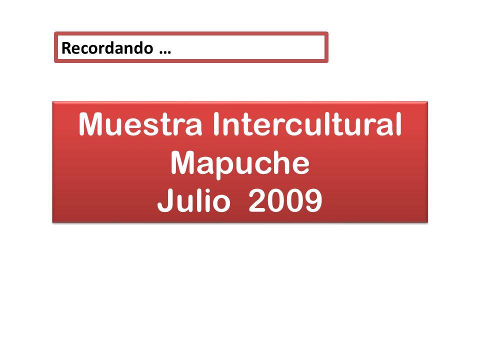 Muestra Intercultural Mapuche