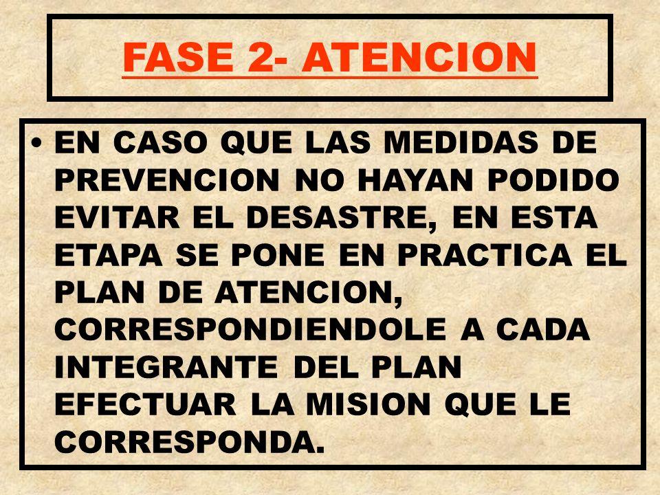 FASE 2- ATENCION