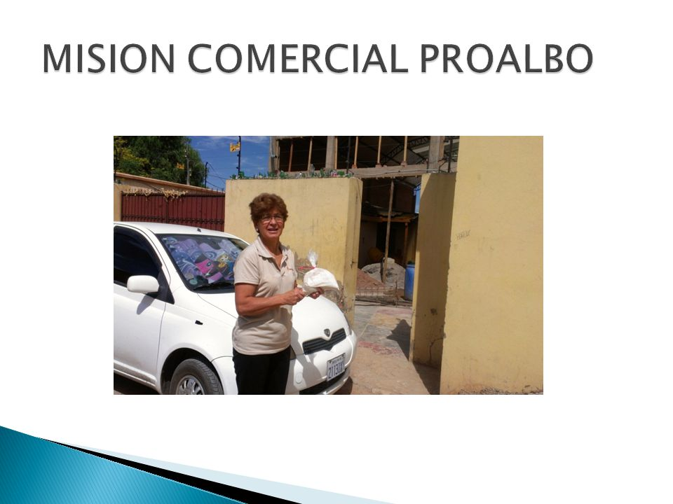 MISION COMERCIAL PROALBO