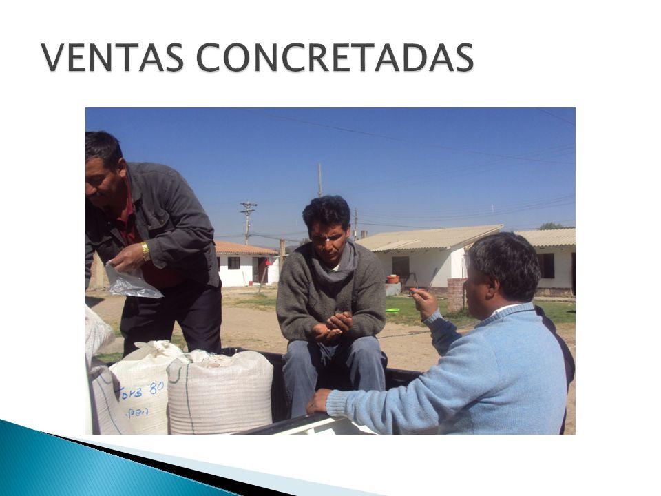 VENTAS CONCRETADAS
