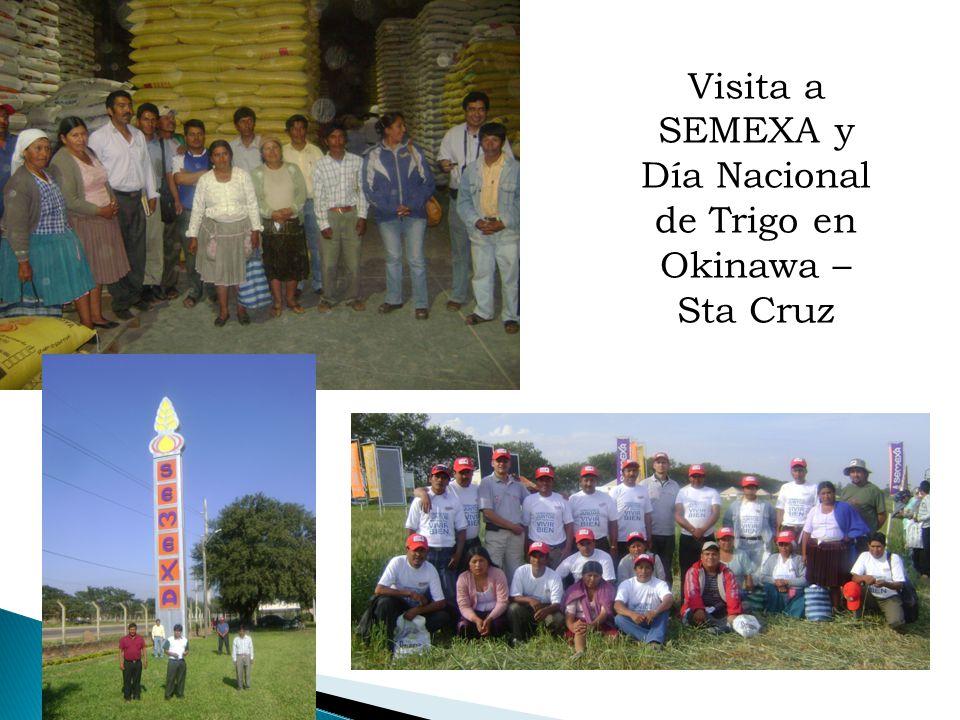 Visita a SEMEXA y Día Nacional de Trigo en Okinawa – Sta Cruz