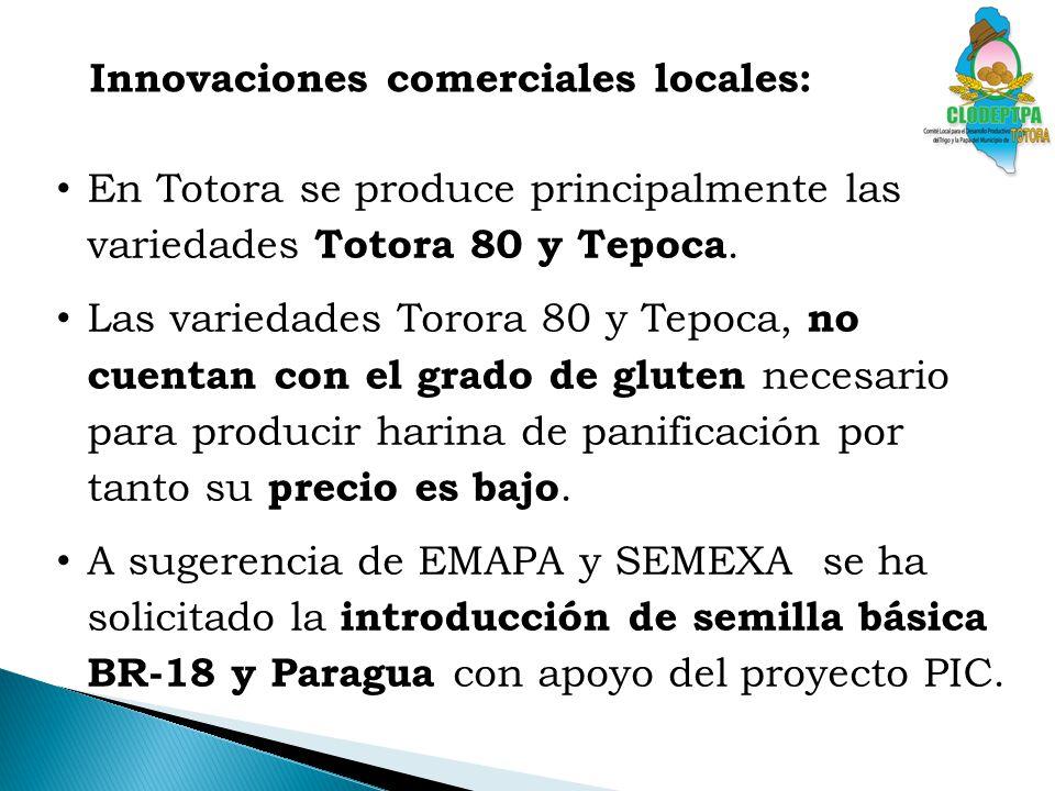 Innovaciones comerciales locales: