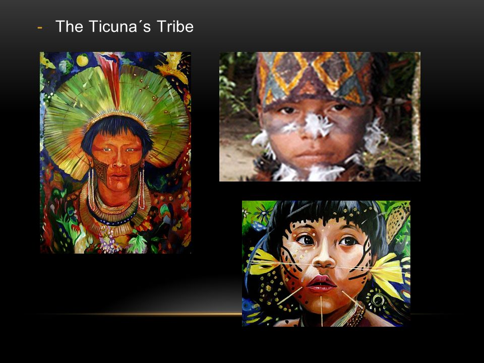 The Ticuna´s Tribe