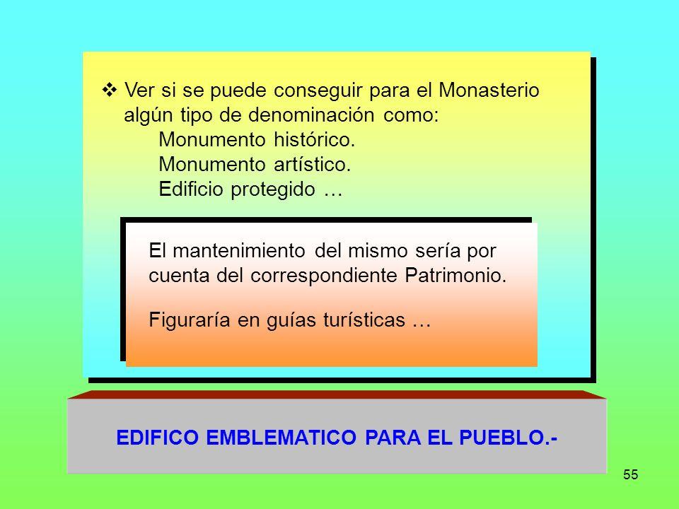 EDIFICO EMBLEMATICO PARA EL PUEBLO.-