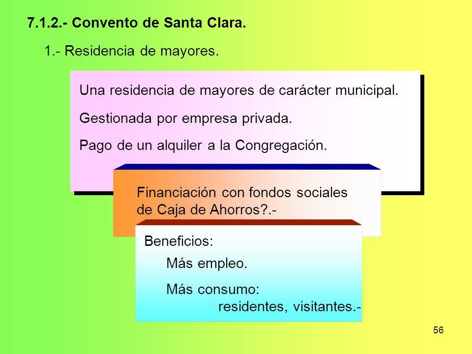 7.1.2.- Convento de Santa Clara.