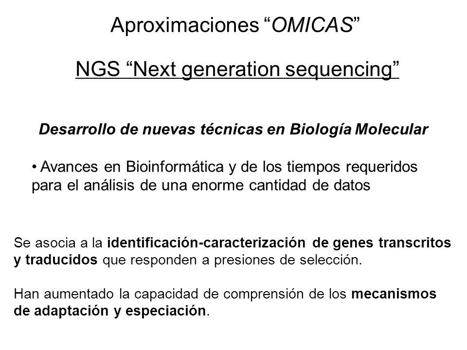 Desarrollo de nuevas técnicas en Biología Molecular
