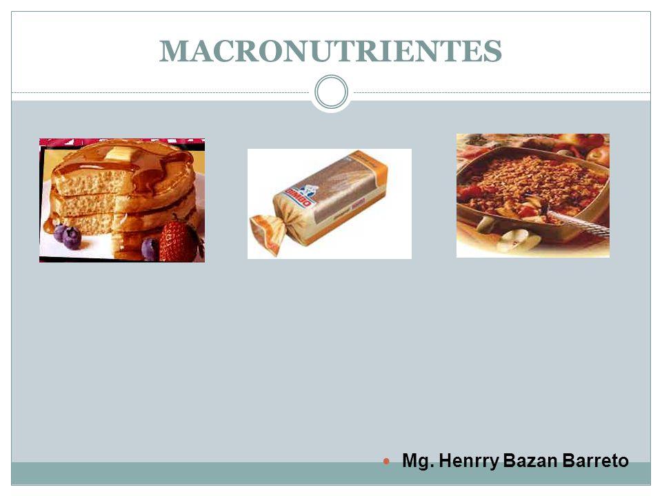 MACRONUTRIENTES Mg. Henrry Bazan Barreto