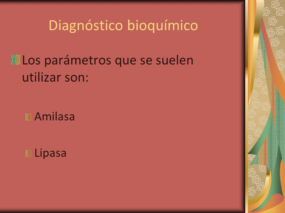 Diagnóstico bioquímico