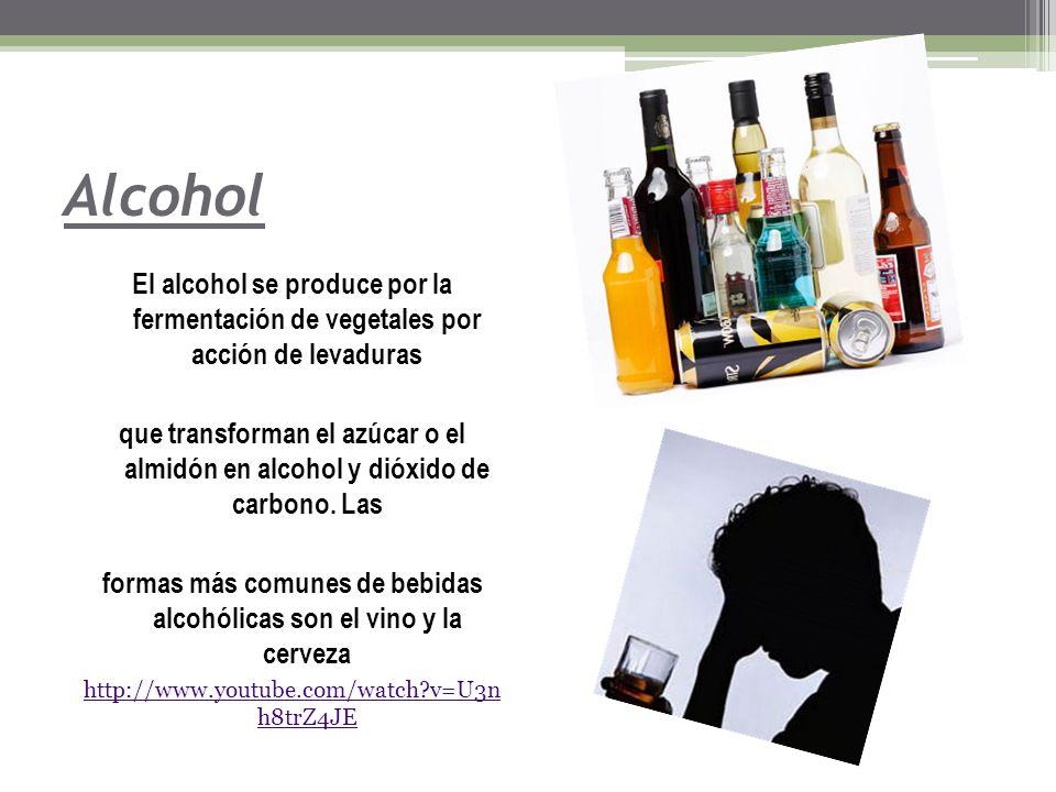 formas más comunes de bebidas alcohólicas son el vino y la cerveza