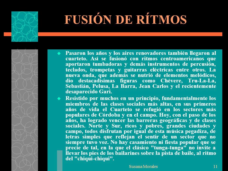 FUSIÓN DE RÍTMOS