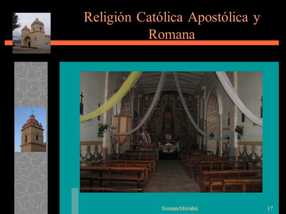 Religión Católica Apostólica y Romana