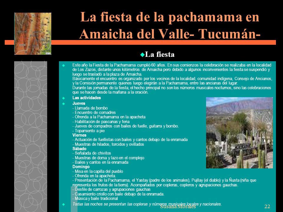 La fiesta de la pachamama en Amaicha del Valle- Tucumán-