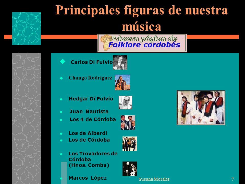 Principales figuras de nuestra música