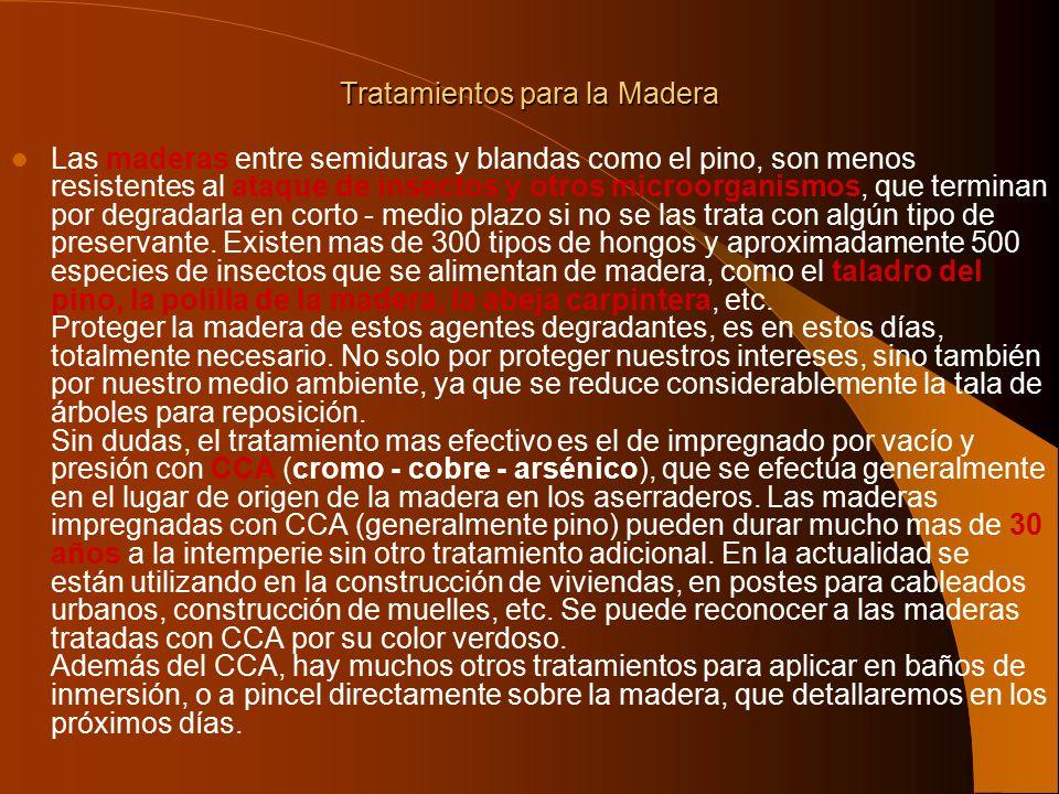 Madera ppt descargar - Tratamientos para la madera ...
