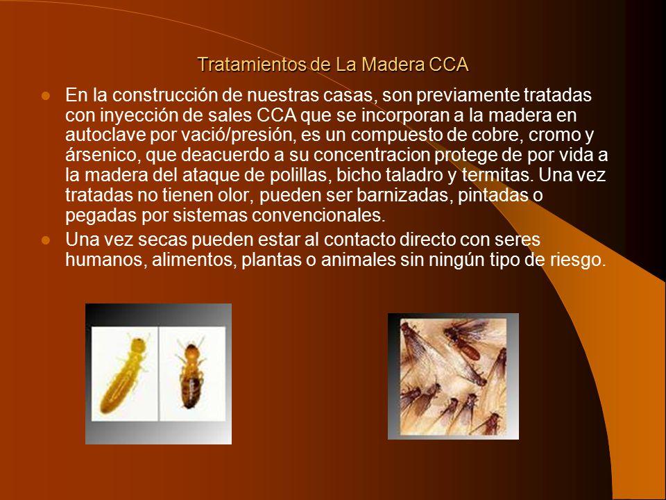 Tratamientos de La Madera CCA