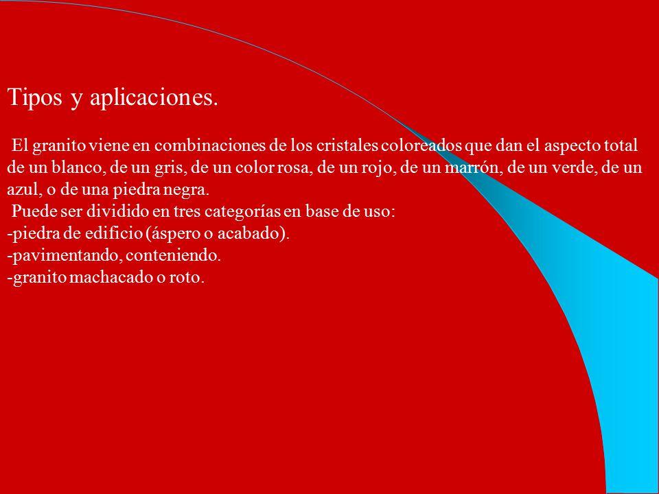 Tipos y aplicaciones.