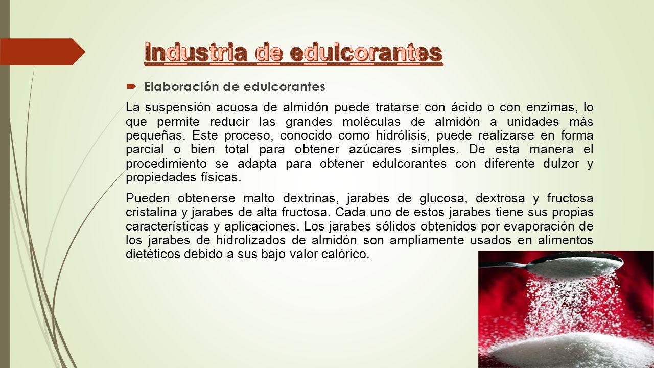 Industria de edulcorantes