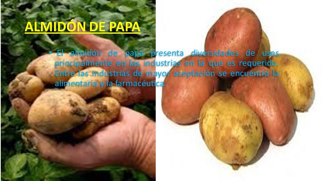 ALMIDÓN DE PAPA