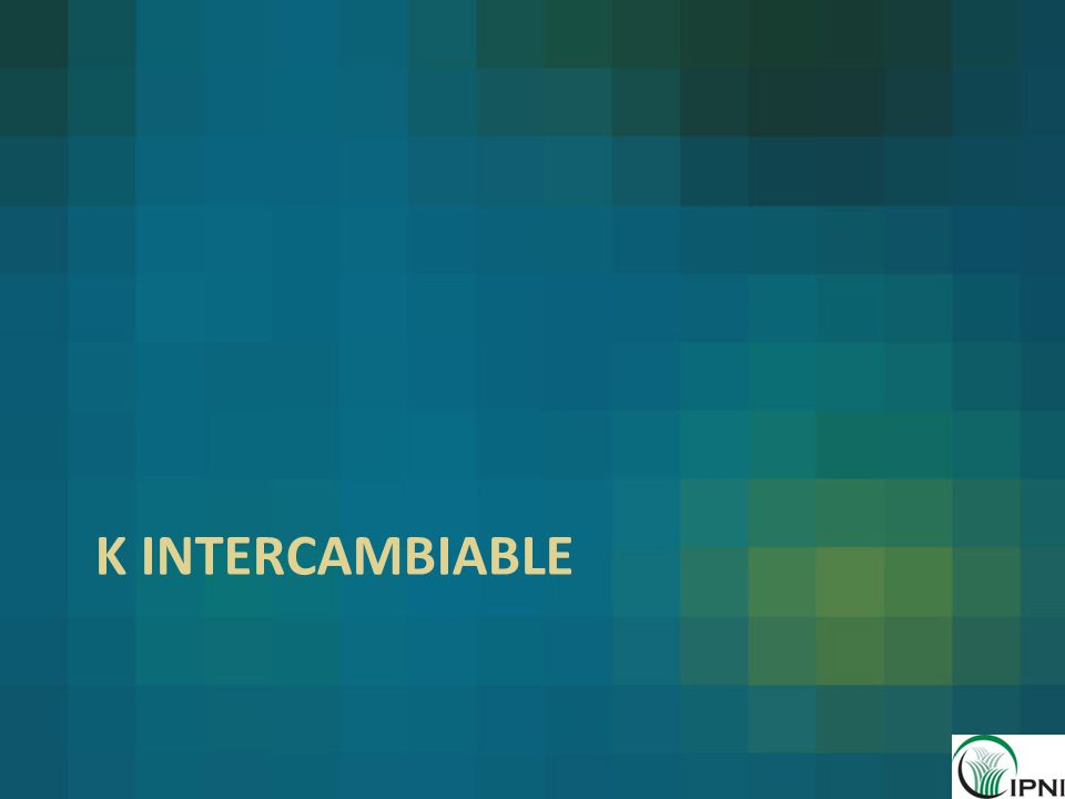 k intercambiable