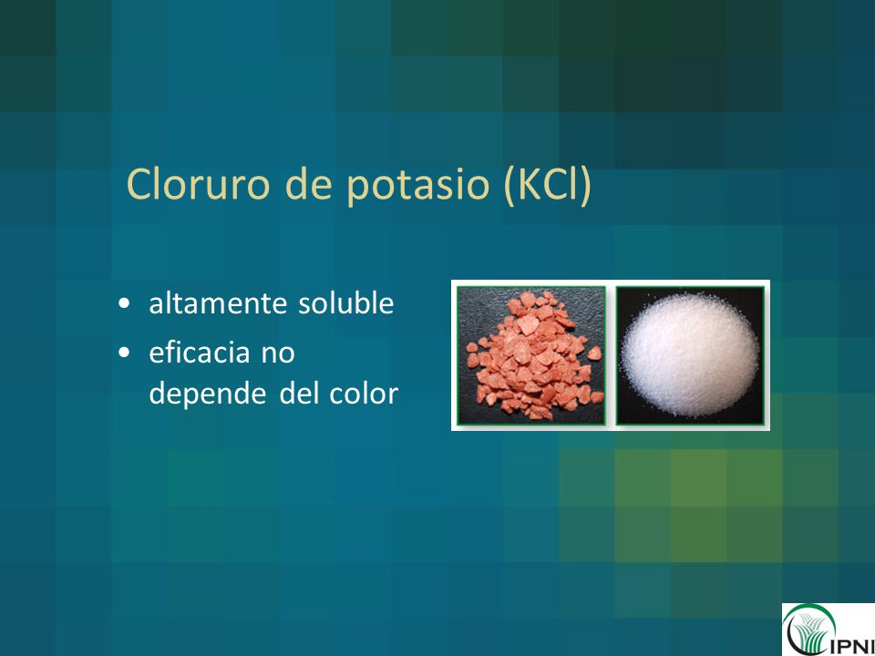 Cloruro de potasio (KCl)